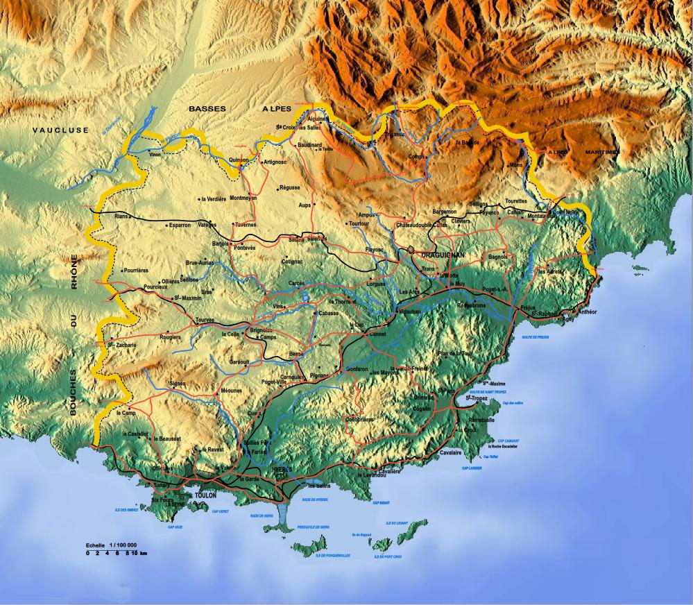 Infos sur : carte var - Arts et Voyages